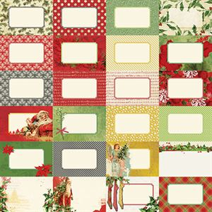 Picture of Joyous Noel by Katie Pertiet Designer Journal Cards